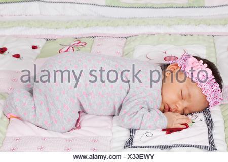 Un mois à dormir paisiblement Banque D'Images