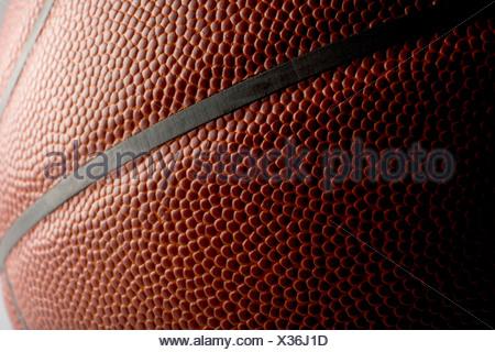 Close up d'un terrain de basket-ball Banque D'Images