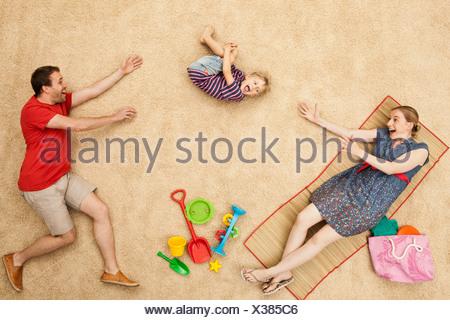 L'Allemagne, avec des jouets à beach Banque D'Images