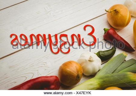 Image composite d'enzymes Banque D'Images