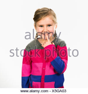 jolie enfant Banque D'Images