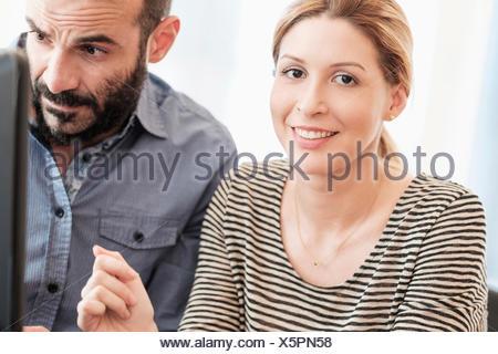 Portrait de femme et l'homme