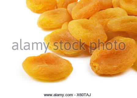 Les abricots séchés Banque D'Images