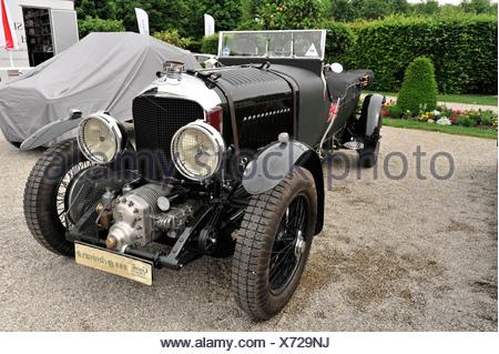 Bentley Van den Plas 4,5 litre, soufflante, construit en 1927, vintage, voiture Retro Classics 2012, Ludwigsburg Barock répond aux Banque D'Images