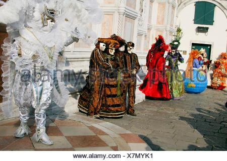 Carnaval de Venise, Vénétie, Italie, Europe Banque D'Images