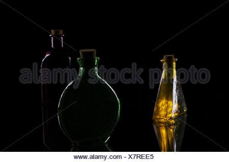 Trois bouteilles arrangement
