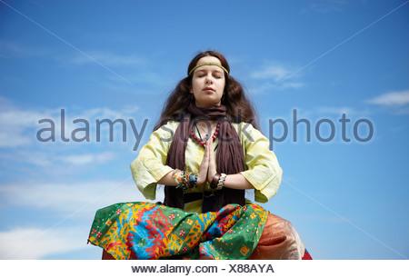 méditation Banque D'Images