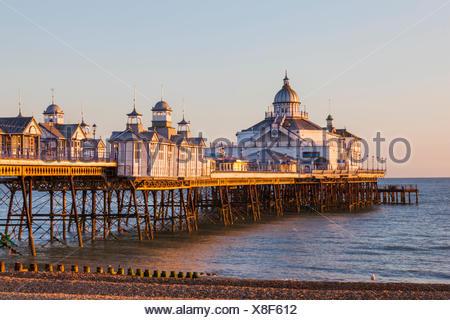 L'Angleterre, l'East Sussex, Eastbourne, Eastbourne Pier Banque D'Images