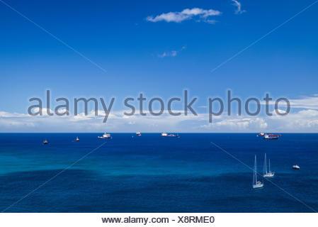 Pays-bas, Saint Eustache, Oranjestad Oranjestad, bay view