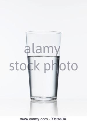 Portrait de verre d'eau