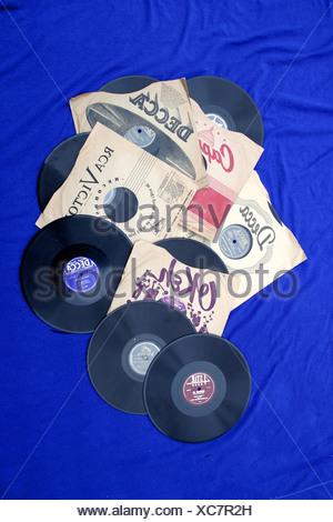 78 tours divertissement de musique ancienne rétro Banque D'Images