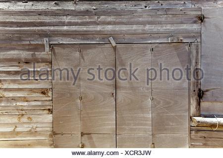 Grunge de bois gris en méditerranée îles baléares Banque D'Images