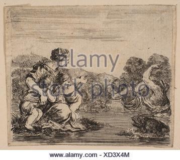 """Latona, de 'Jeu de mythologie"""" (Jeu de la Mythologie). Series/portefeuille: 'Jeu de mythologie"""" (Jeu de la Mythologie); Artist: découpe par Stefano Banque D'Images"""