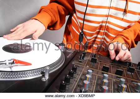 Divertissement musique dj Banque D'Images