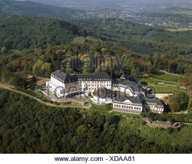 Petersberg hôtel, maison d'hôtes de la République fédérale d'Allemagne, l'Allemagne, en Rhénanie du Nord-Westphalie, Koenigswinter/Rhein Banque D'Images