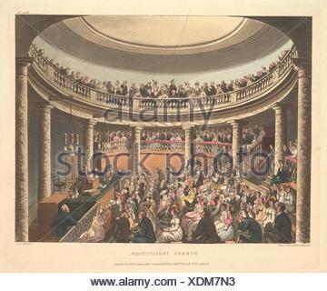 Institution de Surrey (Microcosme de Londres, pl. 81). Series/portefeuille: microcosme de Londres; Artist: conçu et gravé par Thomas ROWLANDSON (britannique, Banque D'Images