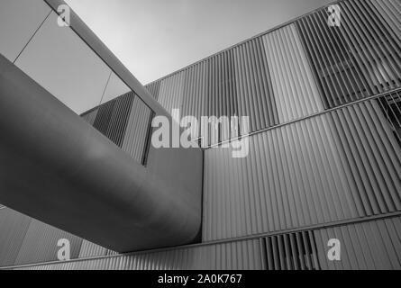 La moderna architettura di Brasilia Foto Stock