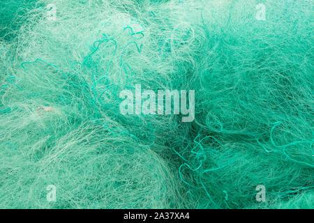 Il nylon gill reti da pesca Foto Stock