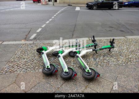 E-scooter di calce a Berlino