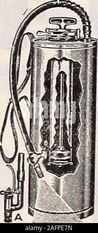 . Dreer all'ingrosso listino prezzi : i semi per fioristi impianti per fioristi lampadine per fioristi semi vegetali, fungicidi, fertilizzanti, insetticidi implementa, Sundries, ecc. * 1. brevettato. Spray automatica Foto Stock