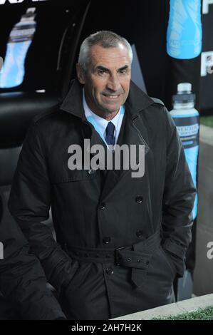 Milano, 01 febbraio 2011, ' SAN SIRO ' Stadium, gravi campionato di calcio un 2010/2011, AC Milan - SS Lazio : Lazio coach , Edoardo Reja , Foto Stock