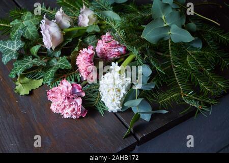 Ordinare Fiori.Negozio Di Fiori Concetto Close Up Di Lusso Bellissimo Bouquet Di