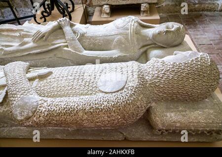 Tarragona Spagna Catalogna Catalunya Cattedrale Metropolitana Basilica Catedral Basilica Cattolica Chiostro della chiesa Museo Diocesano scultura di arte religiosa
