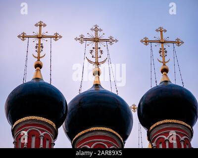Cupole della Chiesa di San Nicola su Bolvanovka. Nel 1632 fu costruita a Bolvanovka la chiesa in legno di San Nicola. Nel 1702-1712 fu sostituito da pietra t.
