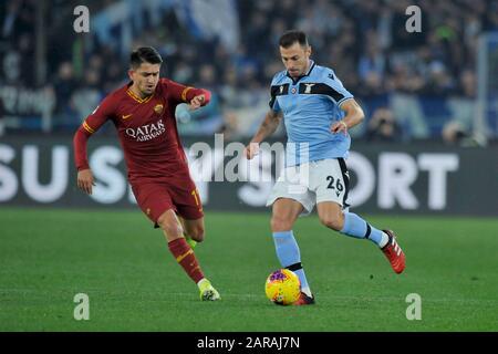 Campionato di calcio Serie A, Roma 1-1 Lazio 26 ottobre 2019 Foto Stock