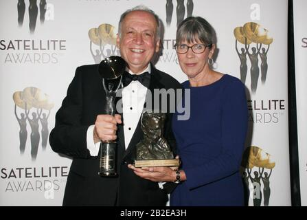 Joe Letteri, Abby Letteri 03/01/2020 24th Annual Satellite Awards - Sala Stampa Presso Il Viceroy L'Ermitage Beverly Hills A Beverly Hills, Ca Photo By Izumi Hasegawa/Hollywoodnewswire.net Credit: Hollywood News Wire Inc./Alamy Live News