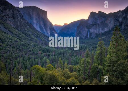 Usa, Stati Uniti D'America, Parco Nazionale Di Yosemite, California