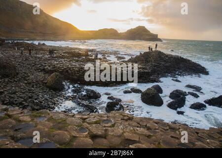 Amazing Giant's Causeway, Co. Antrim, Irlanda del Nord