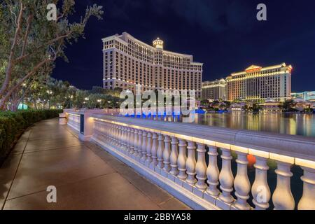 Bellagio hotel e casinò a Las Vegas, Nevada