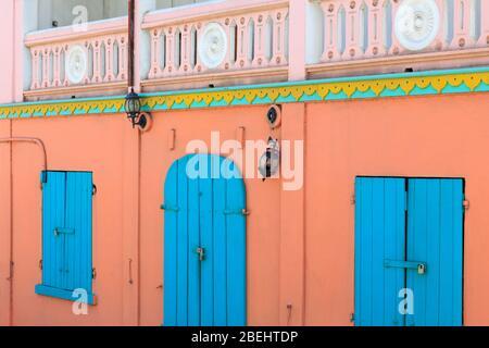 Store a Cruz Bay,San John,Isole Vergini degli Stati Uniti d'America,dei Caraibi Foto Stock
