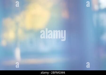 Casa esterno abstract sfocatura sfondo. Blur immobiliare. Edificio casa sfondo sfocato Foto Stock