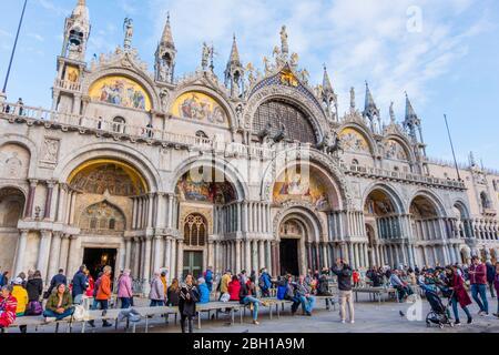 Basilica di San Marco, Basilica di San Marco, Piazza di San Marco, Venezia, Italia