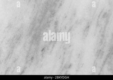 Struttura in marmo bianco (grigio), struttura dettagliata di marmo (alta risoluzione), struttura astratta in marmo sfondo naturale reale modellato per il design. Foto Stock