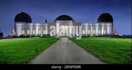 USA, Stati Uniti d'America, California, Los Angeles, Downtown, Hollywood, Beverly Hills, Osservatorio Griffith, Foto Stock