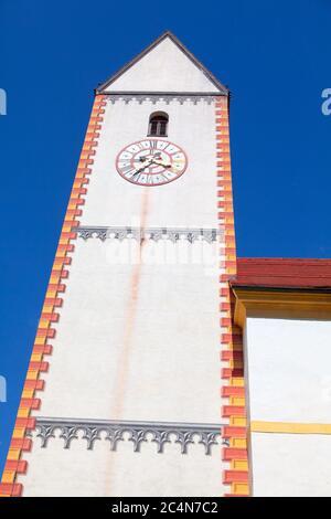 Horologia al campanile della chiesa