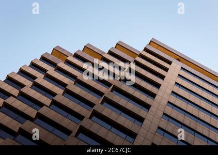 Abstract architettura geometrica Foto Stock