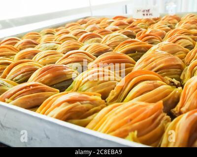 Dolci turchi, baklava, dolci, tacchino Foto Stock