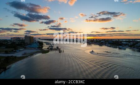 ONO Island e Perdido Key al tramonto