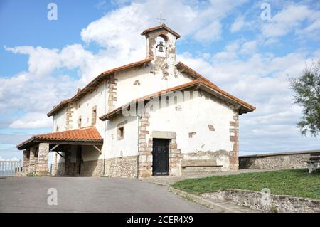 Eremo di San Telmo dedicato al patrono del marinaio, Zumaia, Gipuzkoa, Paesi Baschi, Spagna
