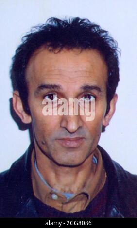 Immagine non datata rilasciata da Scotland Yard di Qamar Mirza, 48, che è stato pugnalato nelle prime ore di , al Jet benzina Garage su Cricklewood Broadway, nel nord di Londra. In seguito morì in ospedale. *..la polizia ha arrestato un uomo di 33 anni in relazione all'incidente - e altri quattro stabbing e tentato incidenti di stabbing nella zona. Foto Stock