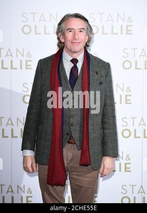 Steve Coogan partecipa alla fotocellula Stan & Ollie che si tiene al Soho Hotel, Londra. Foto Stock