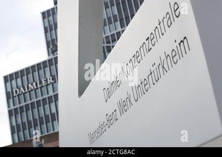 La sede centrale della Daimler, Mercedes-Benz stabilimento ...