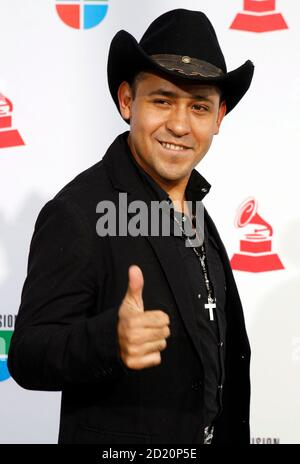 Ojeda arrives at the 10th annual Latin Grammy awards in Las Vegas, Nevada November 5, 2009.     REUTERS/Steve Marcus (UNITED STATES ENTERTAINMENT)