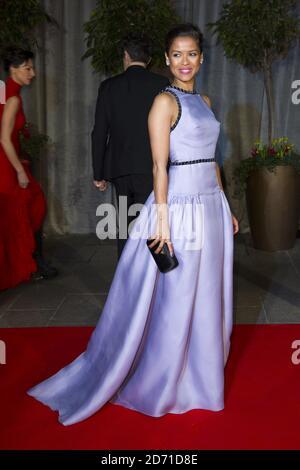 Gugu Matha-Raw partecipa alla festa dopo lo spettacolo per l'EE British Academy Film Awards al Grosvenor House Hotel nel centro di Londra.