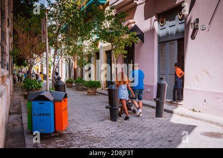 Via Amargura. Atmosfera locale cubana in una strada popolare. La Habana - la Havana, Cuba, America Latina e Caraibi