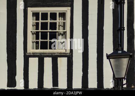 Edificio medievale nel Castello di Leicester. Solo pochi edifici individuali restarono dal castello - un frammento di uno di essi nella foto.